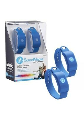 SoundMoovz - Navy Blue Bluetooth Connect Musical Wrist/Ankle Band Watches