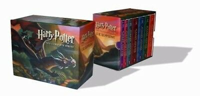 Harry Potter Paperback Boxed Set: Books #1-7: By Rowling, J.K. Fiction Textbook