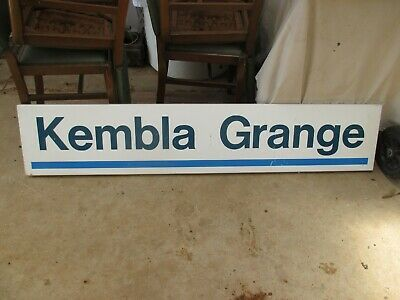 Kembla Grange Railway Sign