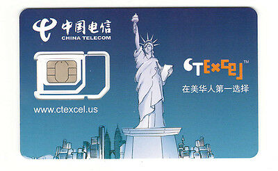 Preloaded CTExcel 3in1 SIMCard + $29X3 Months,T-Mobile signal unlimited T/T/D
