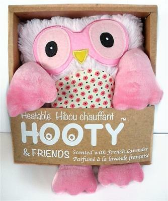 Cuddle Relax with a Warm Heatable Lavender Scented Hooty Owl Gr8 for Tummy Aches