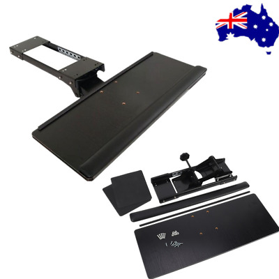 Under Desk Keyboard Tray Drawer Adjustable Ergonomic Underdesk Keyboard Shelf AU