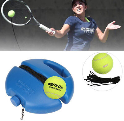 Singles Tennis Trainer Training Practice Balls Back Base Trainer Tools & Tennis