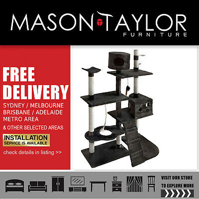 FREE DELIVERY METRO* Cat Scratching Poles Post Furniture Tree Multilevel Toy