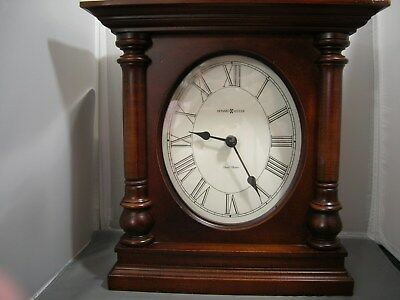 Howard Miller Mantle Clock Westminister Chime Quartz Movement