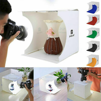 Mini Room Photo Studio Photography Light Portable Box Lighting Tent Kit Backdrop
