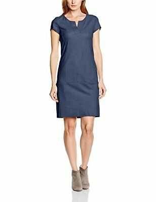 (TG. IT 42 (DE 36)) Blau (Mood Indigo 8528) Betty Barclay 6416/9602, Vestito Don