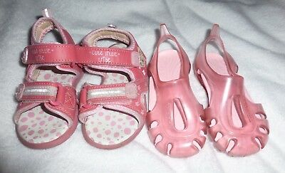 Nice Toddler girl Spring Summer Sandals & water shoes Job Lot Bundle size 6