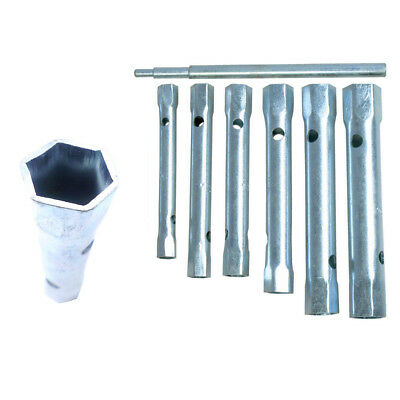 6 pcs motorcycle tool reach spark plug wrench spanner socket hexagon wrench/