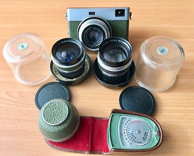 Carl Zeiss Jena Werra 35mm Sucherkamera Kit komplett
