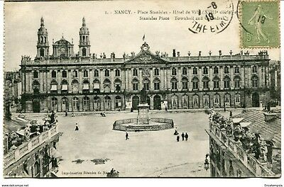 CPA - Carte postale - FRANCE -Nancy - Place Stanislas - 1919 (CP1412)