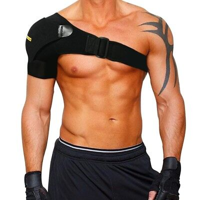 Shoulder Stability Brace Pressure Adjustable Pad Support Rotator Cuff Dislocated