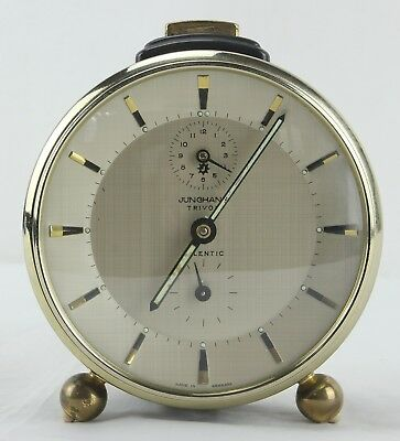 Orologio Sveglia JUNGHANS TRIVOX SILENTIC - Vintage Made in Germany Full Working