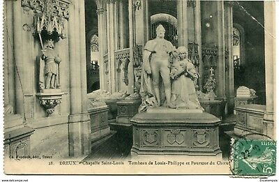 CPA - Carte postale - FRANCE -Dreux - Chapelle Saint Louis - 1911 (CP1417)