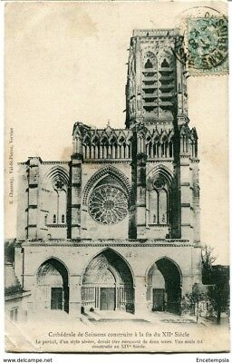 CPA - Carte postale - FRANCE-  Soissons - Cathédrale - 1906 (CP1424)