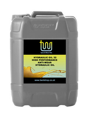 Hydraulic Oil High Performance Anti Wear ISO 32 | ISO 46 - 20 Litres