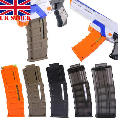 UK Worker Mod 15-darts Banana Magazine Quick Reload Clip for Nerf N-strike Elite