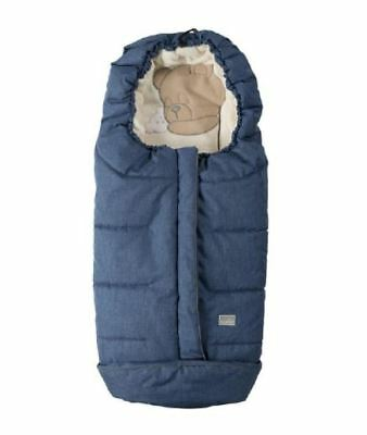 Nuvita Junior Cuccioli Sleeping Bear Footmuff  - Electric Blue