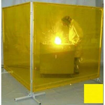 NEW! Goff's Welding Screen - 6'W x 8'H - Yellow!!