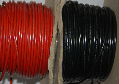6mm Black, Red 53A 12-240v Tri Rated Battery Cable Wire Auto Marine
