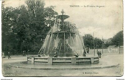 CPA - Carte postale- France - Troyes - La Fontaine Argence (CP1455)