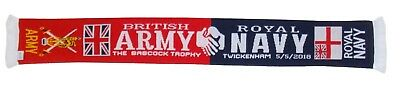 Army vs Navy Scarf - Babcock Trophy 2018 - Made in UK