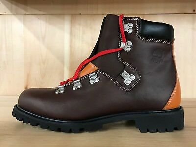 TIMBERLAND CHUKKA BOOTS Brown Orange Leather Men Size 10.5 47044 ... f2f6be0bb89