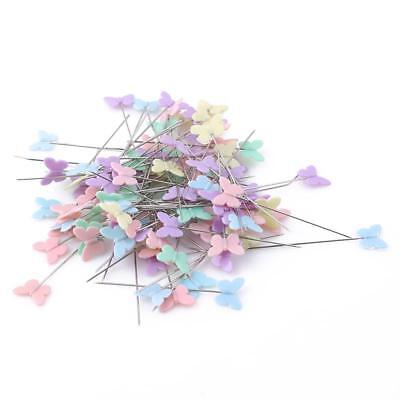 100 Pieces Patchwork Pins Quilting Tool Multicolor Diy Sewing Needle Accessory C