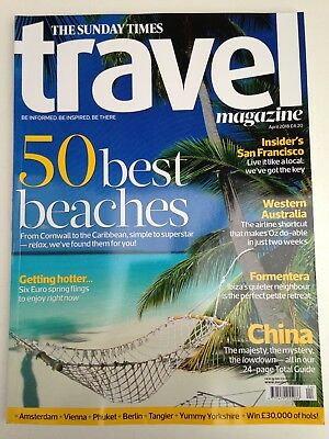 The Sunday Times - Travel Magazine - Issue 171 - April 18' - Brand New