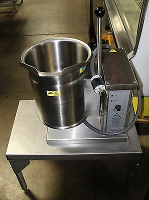 Cleveland Model KET-3-T Electric Tilting Steam Kettle with Stand Mfg 2012