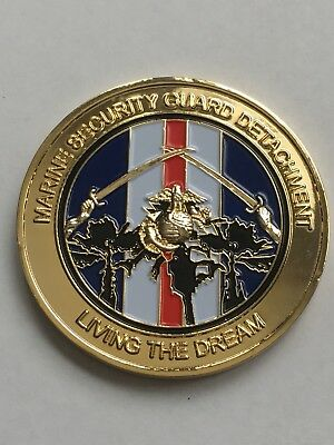 Marine Security Guard Detachment Baghdad Iraq Challenge Coin