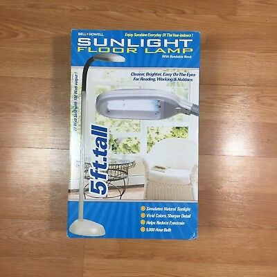 BELL AND Howell Sunlight Desk Lamp - $32.00 | PicClick