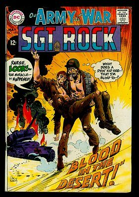 DC Comics Our Army At War #193 SGT ROCK FN+ 6.5