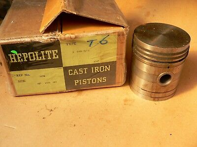 "Case Tractor  1920/36   Cast Iron Pistons  4 1/8  "" + .040"""