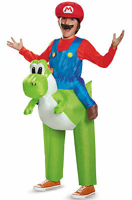 Super Mario Brothers Mario Riding Yoshi Nintendo Child Costume