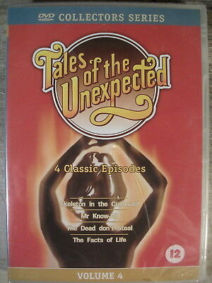 Tales of the Unexpected Volume 4 (DVD, 2000) All Regions BRAND NEW!