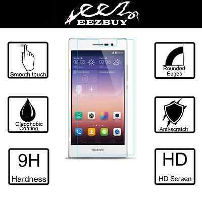 Real Tempered Glass Film Screen Protector For Huawei Ascend P7