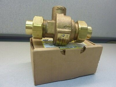 "APOLLO DCAP-12  40-4A3-3AM 1/2"" x 1.2""  Backflow Preventer (20143)"