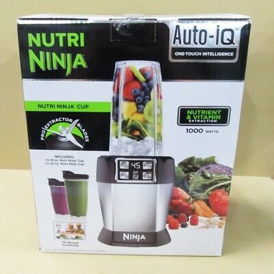 NUTRI Ninja BL480D Auto-iQ One Touch Intelligence Blender