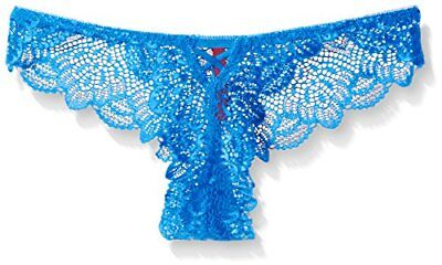 (TG. XLarge) blu Seven Til Midnight XL Galloon Calzemaglie Lace, motivo floreale