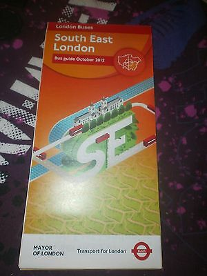 SOUTH EAST London Bus Map 2007perfect condition 050 PicClick UK