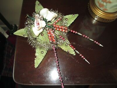 Very NICE Vintage Large Bottle Brush Star Tree Topper ~ GREAT LOOKING Original!