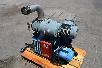 Edwards E2M40 Rotary Vane vacuum pump EH250 mechanical Roots booster blower Air