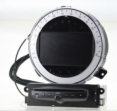 Android 7.1 Quad Core Car DVD Player GPS Sat Navi Stereo for BMW Mini Cooper