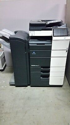 Konica Minolta Bizhub C454e Color Copier Printer Scanner Network  111K