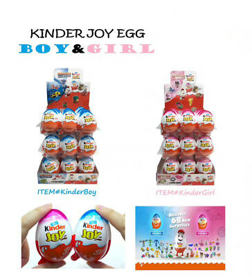 Kinder Joy with Surprise Eggs in Toy & Chocolate For Boys & Girls Big Deal