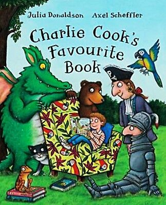 Charlie Cook's Favourite Book by Julia Donaldson (Paperback) [NEW]
