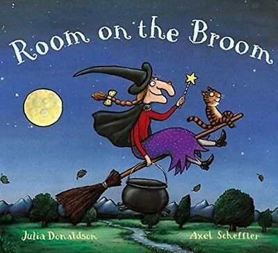 Room on the Broom by Julia Donaldson (Paperback, 2016) [NEW]