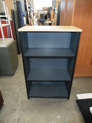 Office 1200Mm Bookcase Beech / Ironstone Brisbane