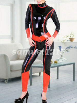 latex new Rubber Gummi Ganzanzug Full-body Catsuit Socks Bodysuit Suit XXS-XXL